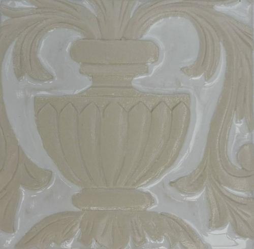 Part Italian Vase Gloss White/Porcelain 150x150mm