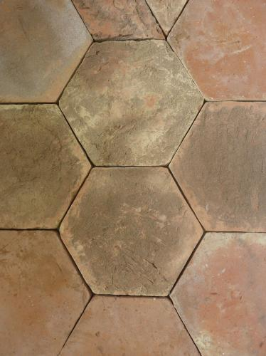 Terracotta Honed Hexagon 270x245x25mm