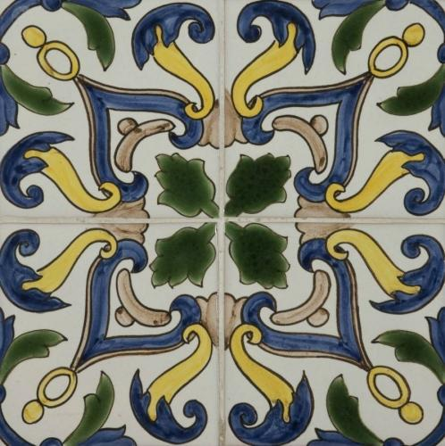 Bacalhoa Tile 140x140mm