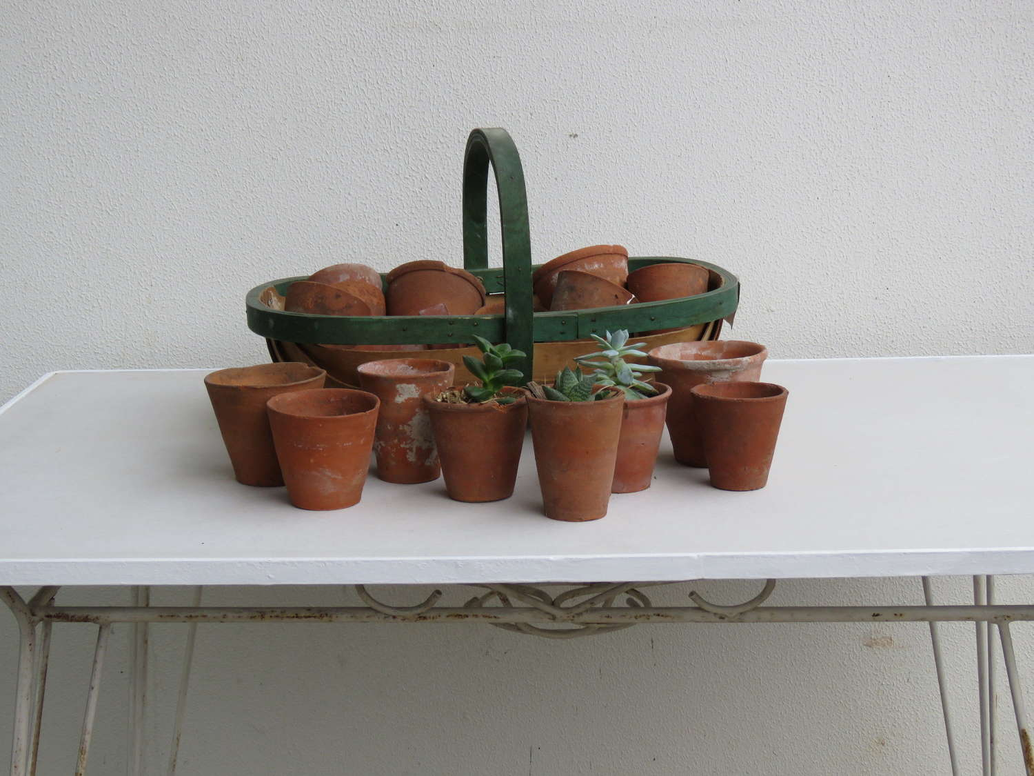 Small English Garden Pots