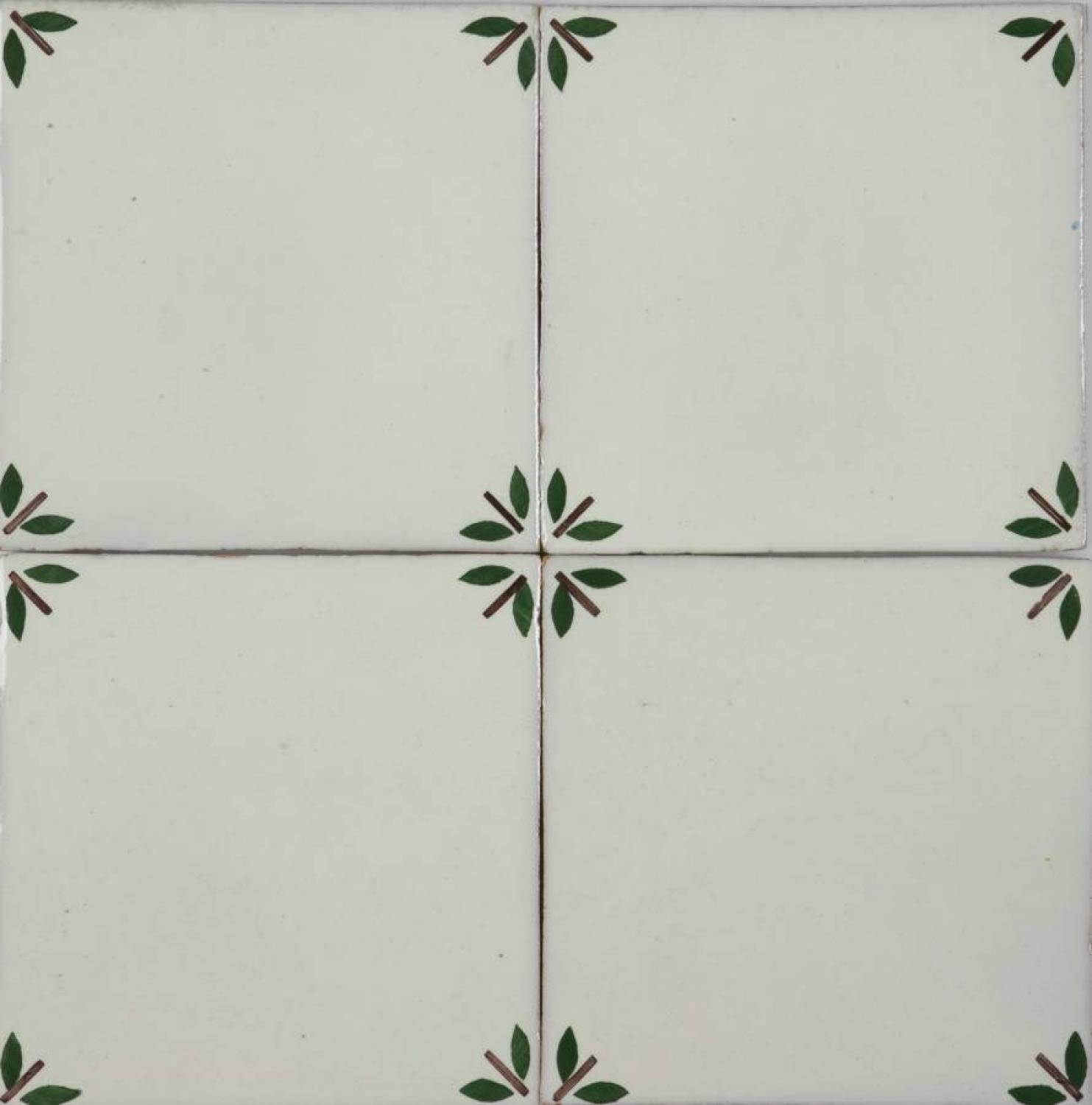 Rosa/Green Bolotas Blanc 140x140mm