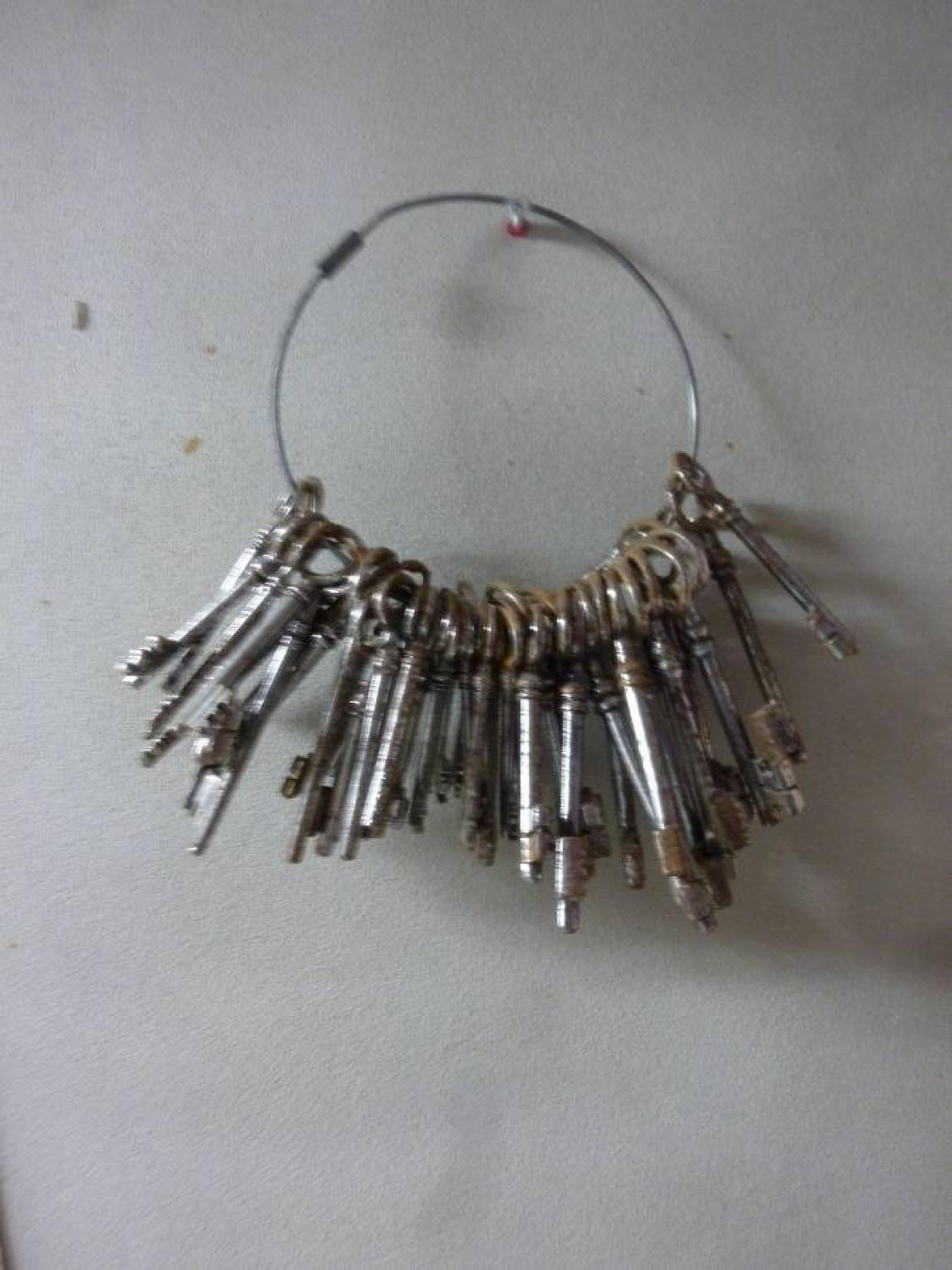 Old French Keys on Ring
