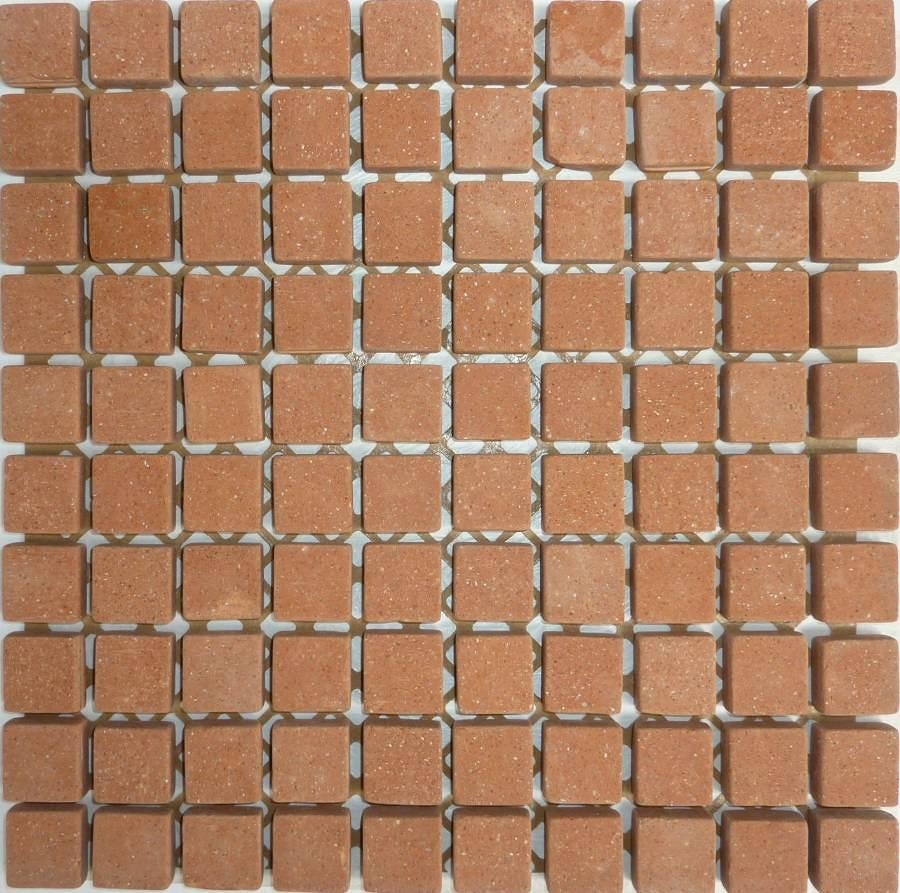 Cotto Mosaic 27mm 300x300mm