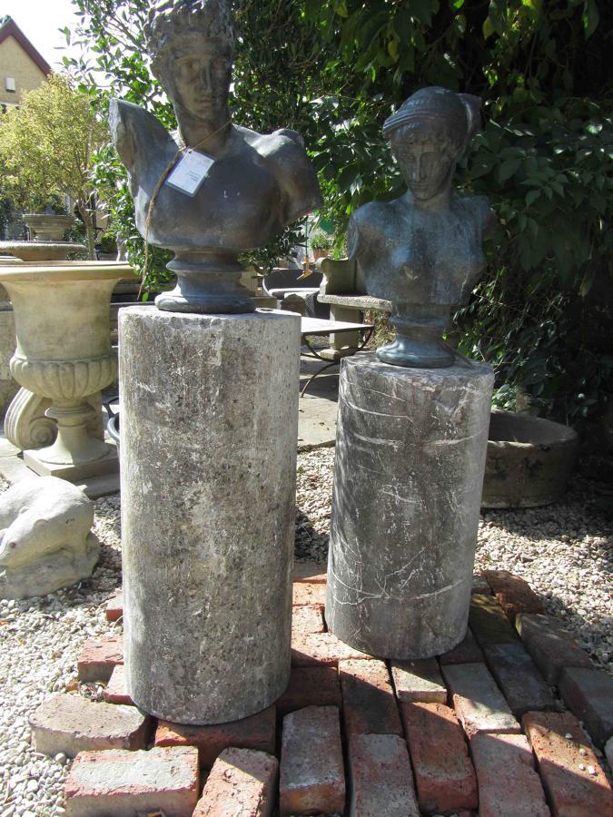Italian Marble Columns, 18th C.