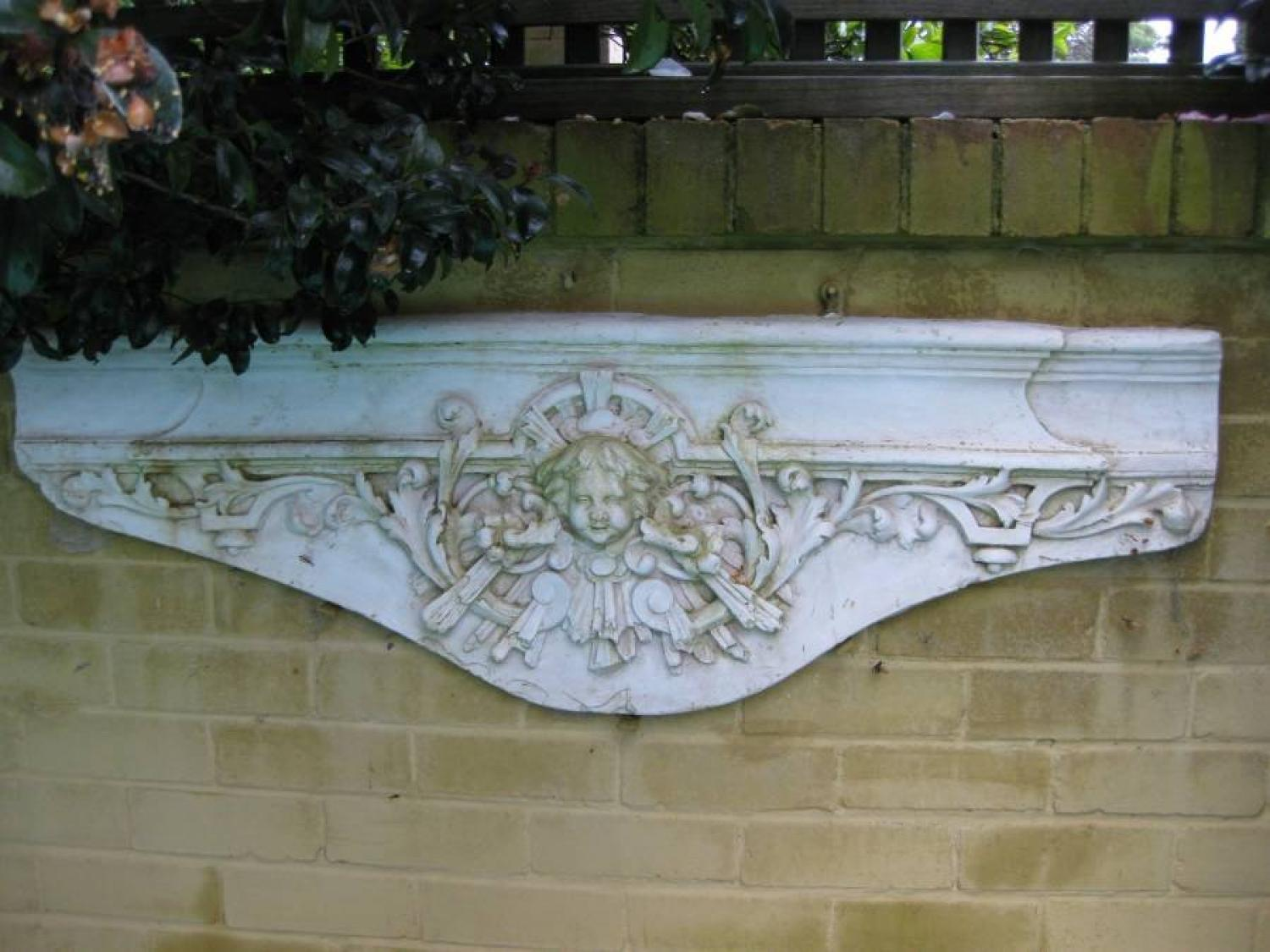French Garden Frieze