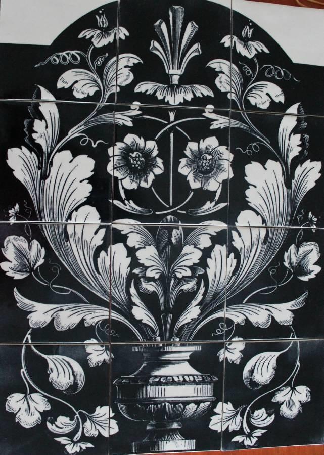 Monochrome Italian Panel