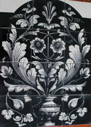 Monochrome Italian Panel