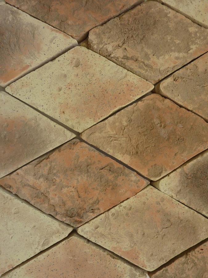 Terracotta Honed Rhomboid 230x140x25mm