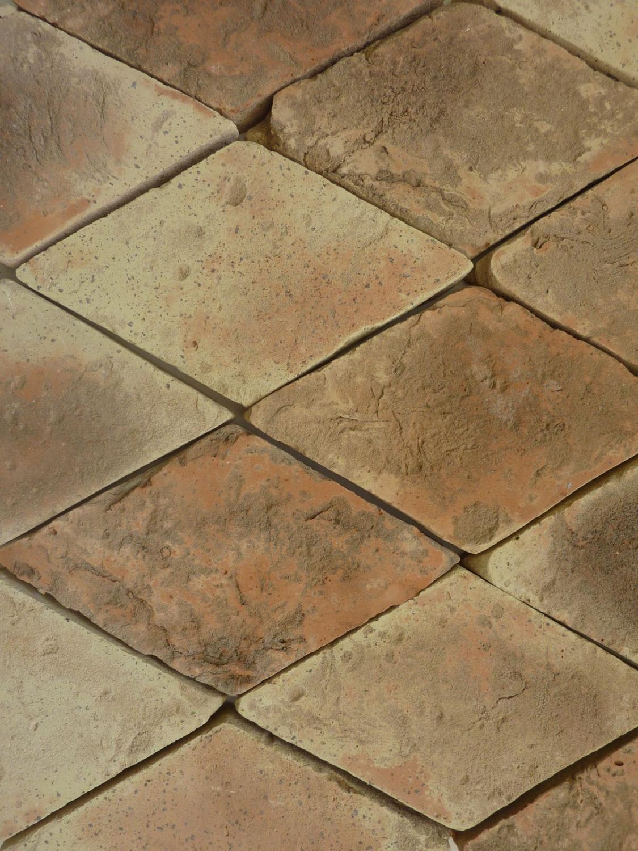Terracotta Honed Rhomboid 230x140x25mm