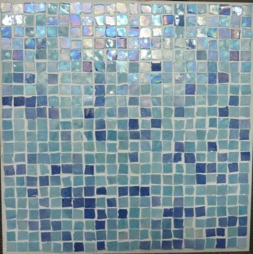 Perla Blu Mosaic 300x300mm - NOW ON SALE