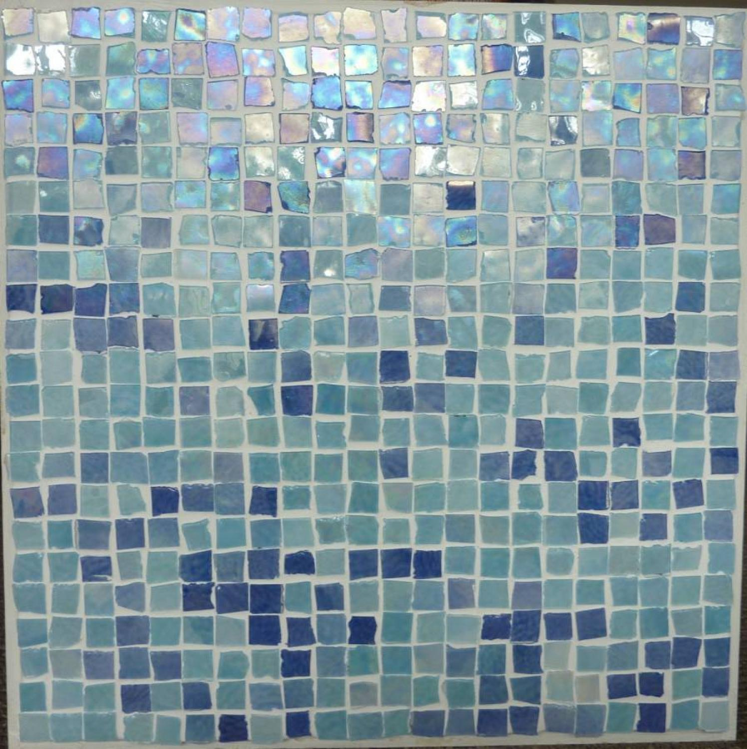 Perla Blu Mosaic 300x300mm - NOW ON SALE