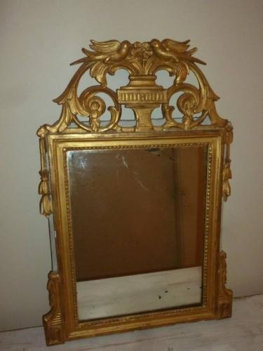 French Gilded Mirror, 18th C
