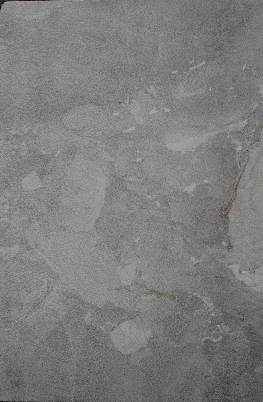 Silver limestone paver