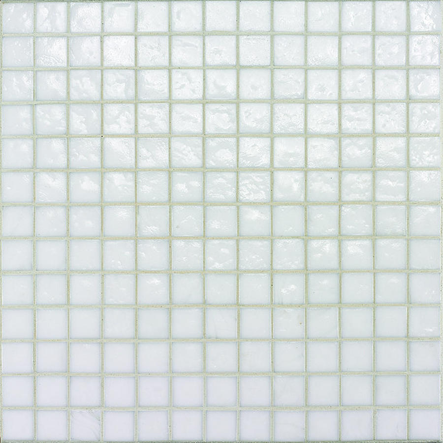 Muse White Non Iridescent Mosaic 308x308mm