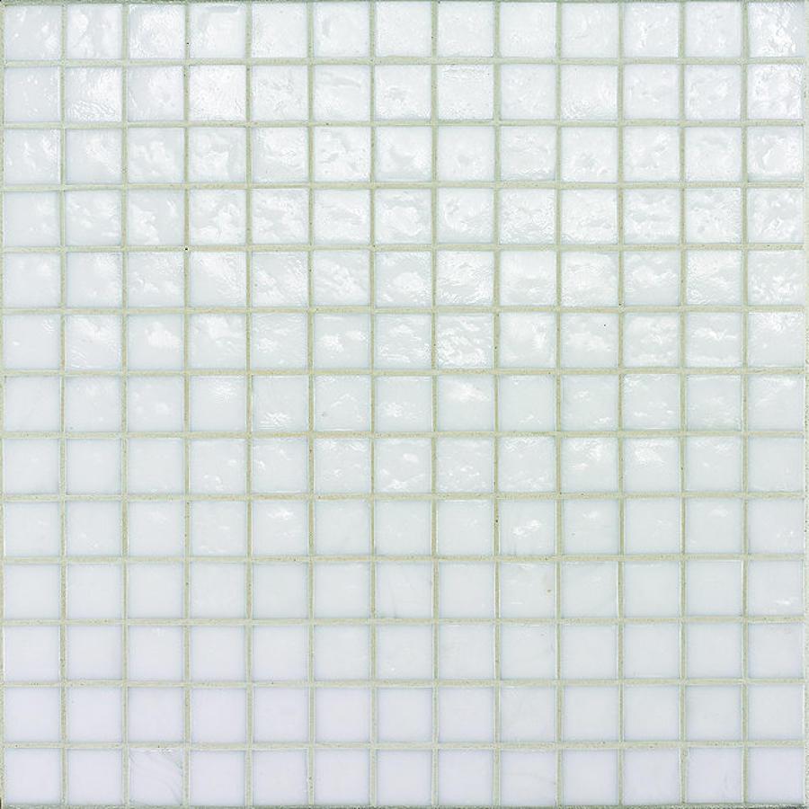 Muse White Non Iridescent Mosaic 308x308mm
