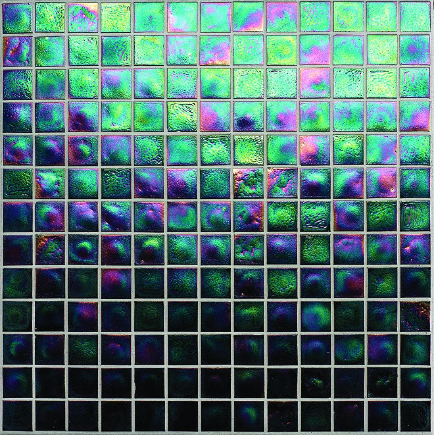 Muse Tourmaline Iridescent Mosaic 308x308mm