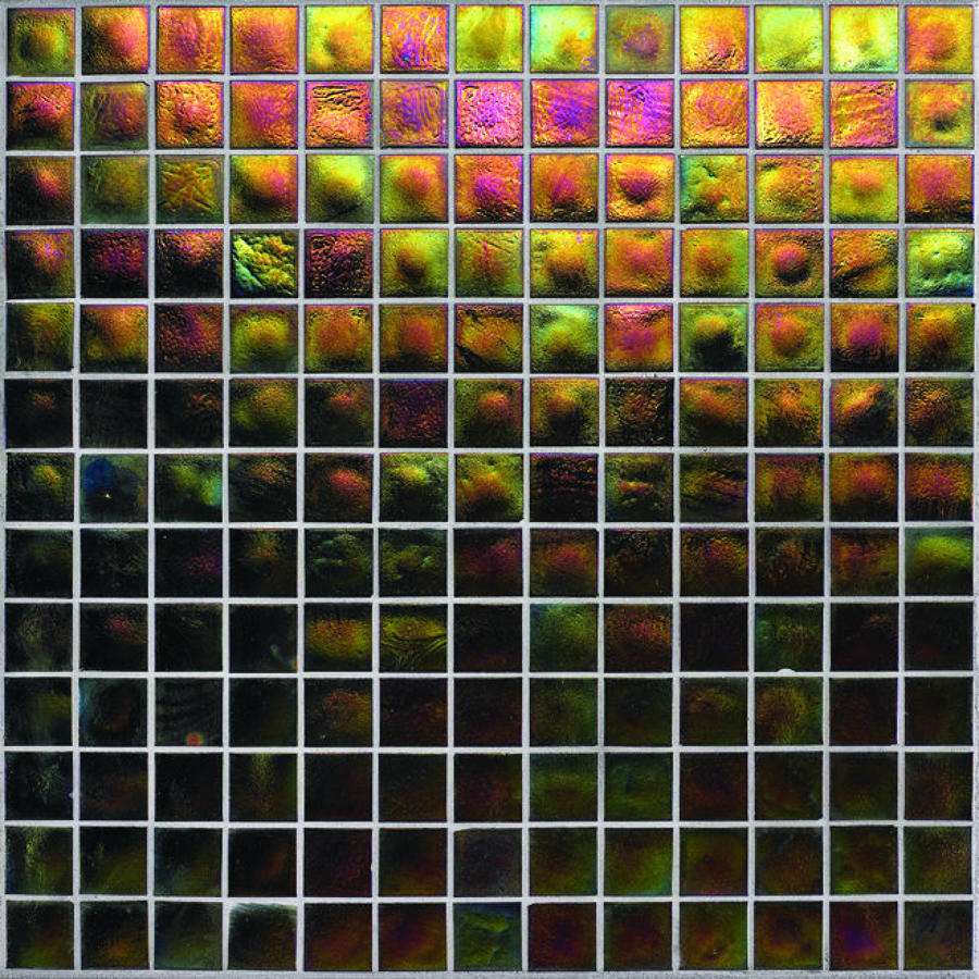 Muse Rainbow Iridescent Mosaic 308x308mm