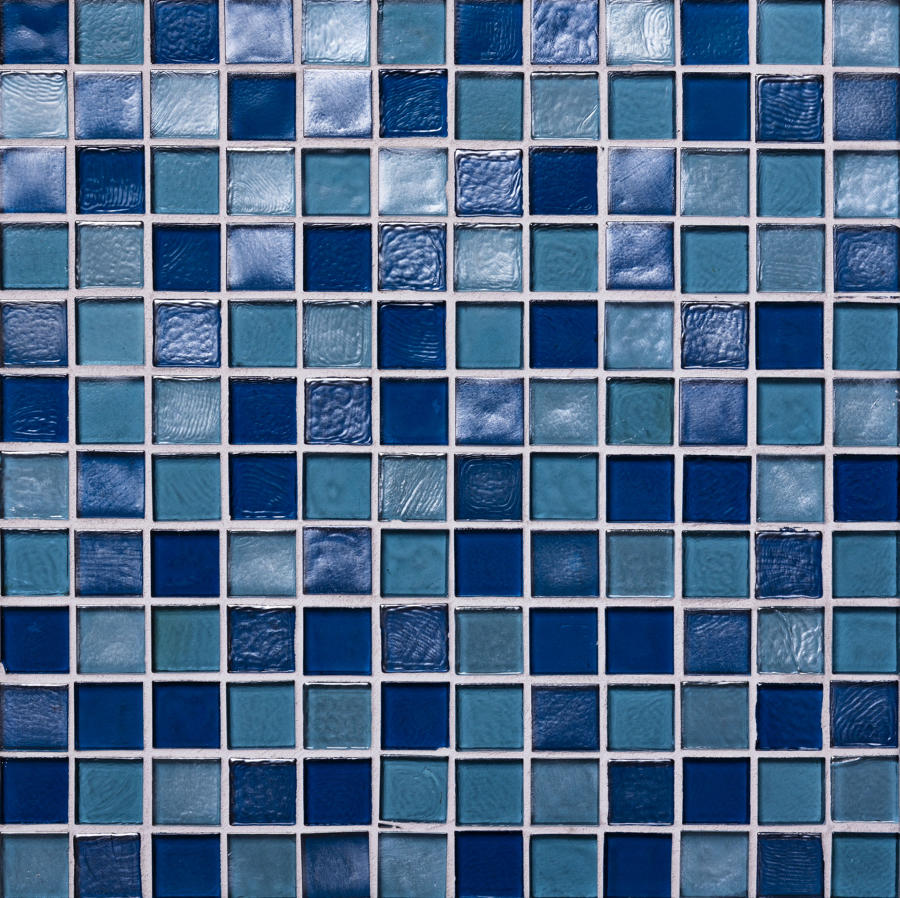 Muse Indigo Mosaic 308x308mm