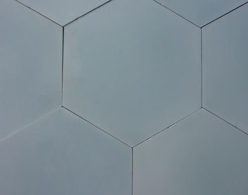 Sky Blue Hexagon