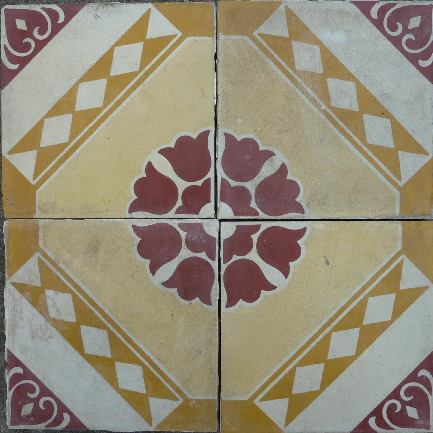 Dijon Reclaimed Encaustic Tile