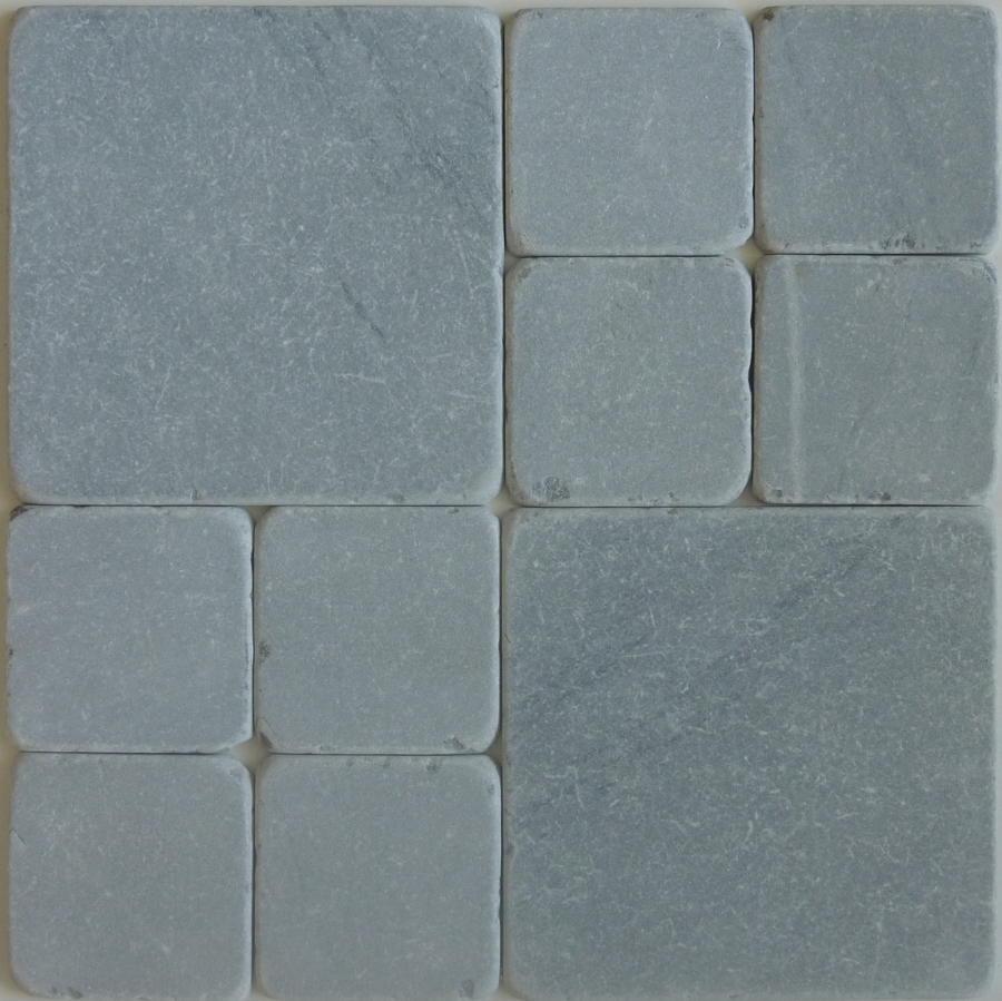 Bardaglio tumbled marble cobblestones