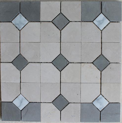 Cabochon Oatmeal Mosaic