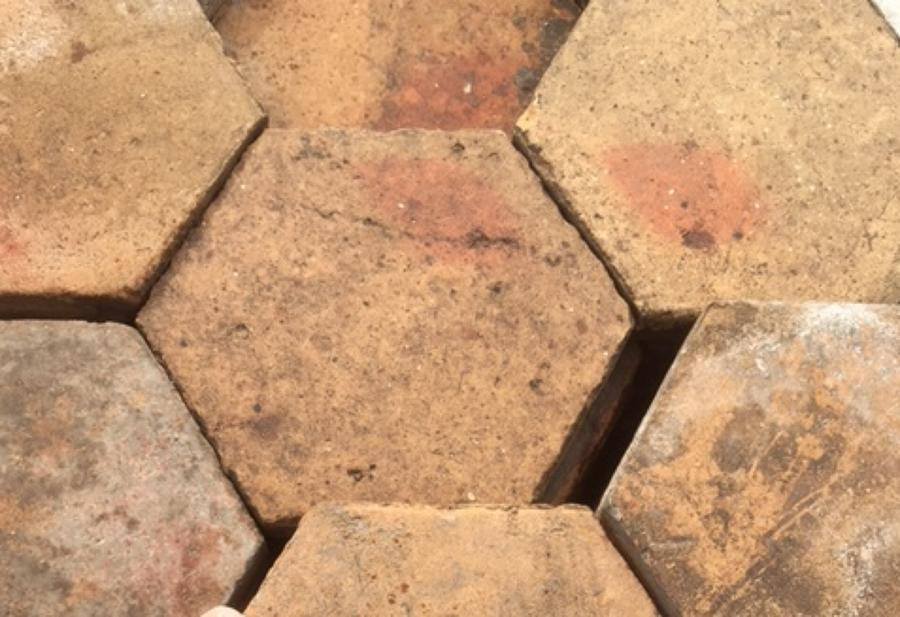 Reclaimed Terracotta Hexagon 170x170mm