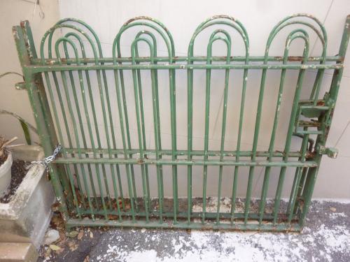 Pair of English Iron Gates, 19th C