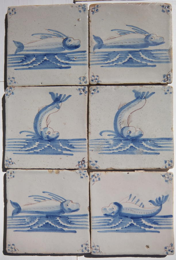 Reclaimed Delft  Tiles