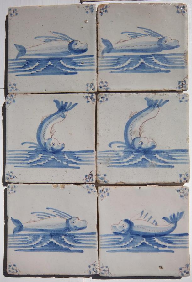 Reclaimed Delft  Tiles