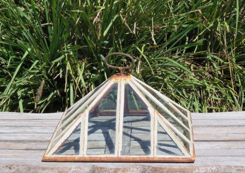 Antique English Pyramid Cloche