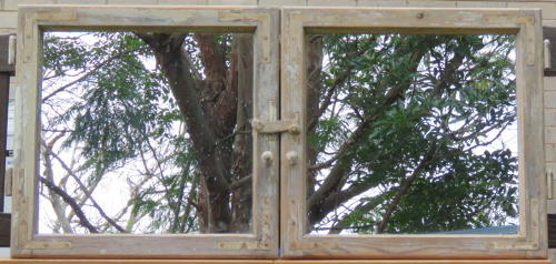 Antique French Window Mirrors