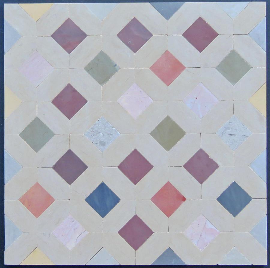 Mini Doga mosaic