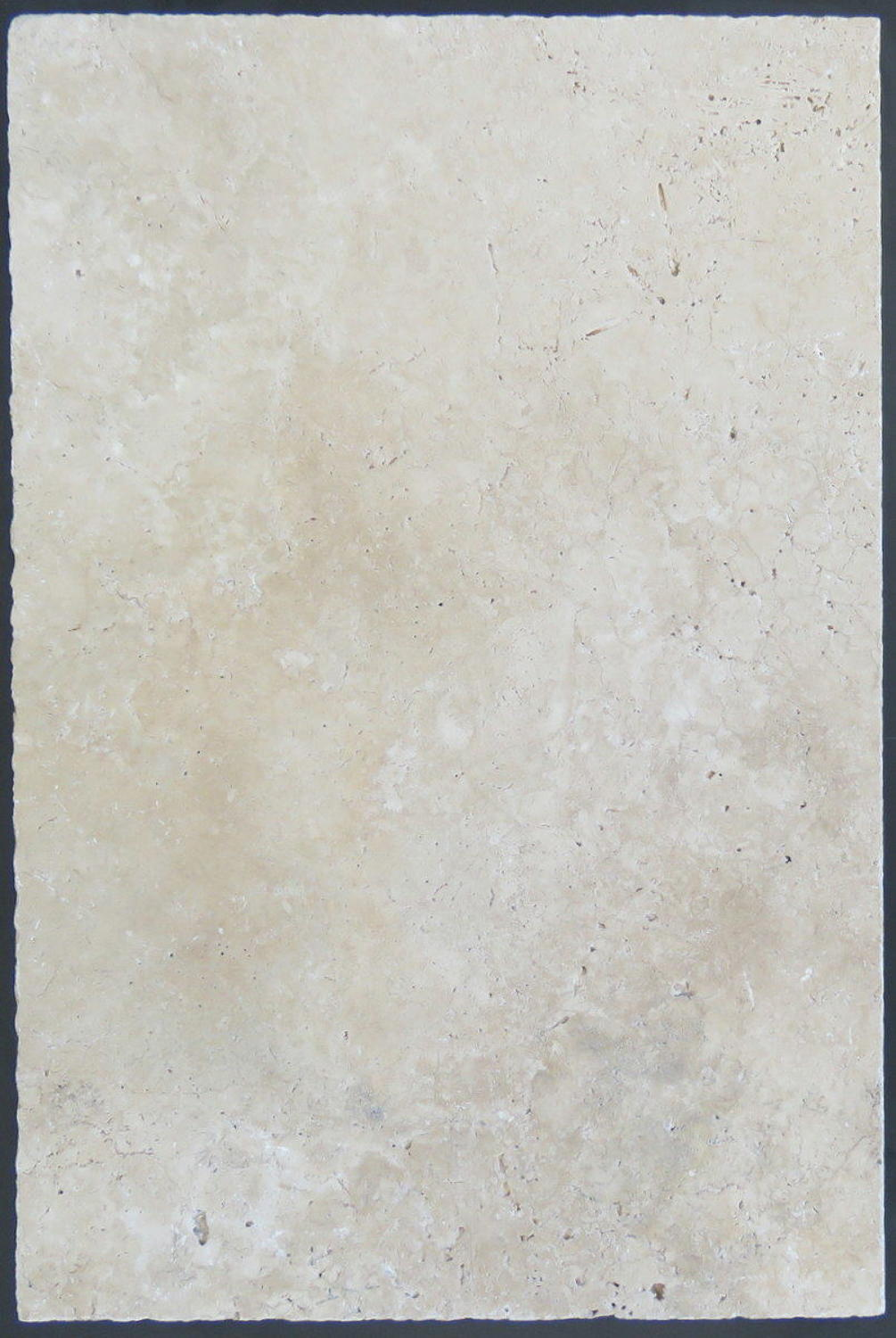 Latte tumbled travertine
