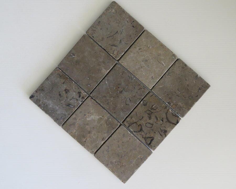 Provence limestone cobblestones