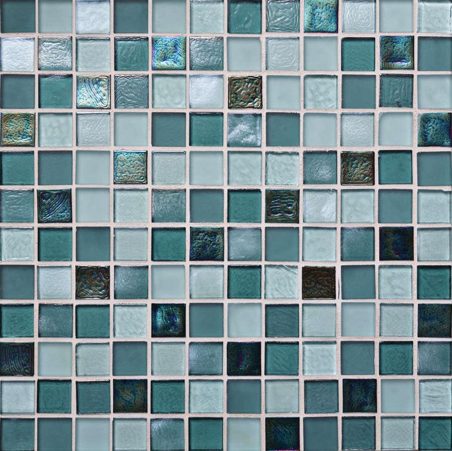 Lagoon blend mosaic 308x308mm