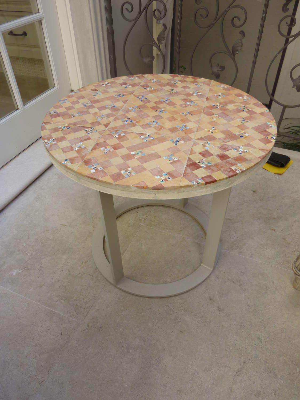 Chercal circular table