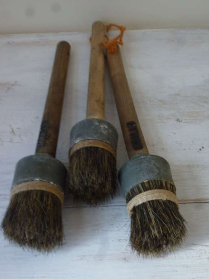 French paint brushes